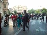 Enseignants,parents et enfants des écoles et collèges de France en colère contre les réformes de l'éducation nationale