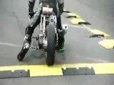 Moto chute