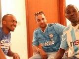 Quand Soprano rencontre les fans de l'OM au Congo