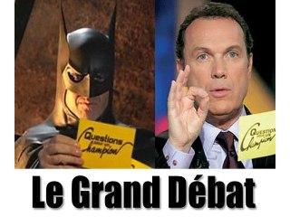 Batman contre Julien Lepers