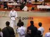 judo Championnat départemental cadets Brest 29 11 09 - Matthias 30 points