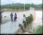 Las lluvias causan estragos en Valencia