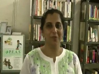 Ms.Alka Thakkar - Why she likes to give talks at HELP Library.wmv
