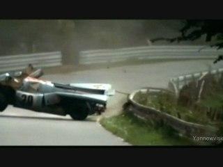 """Le Mans"" - CRASH Porsche / Ferrari (S. McQueen) 1971 - HQ"