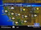 TWC Satellite Local Forecast from February 2005 Daytime #13