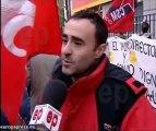 Trabajadores de Iberia protestan por precariedad laboral