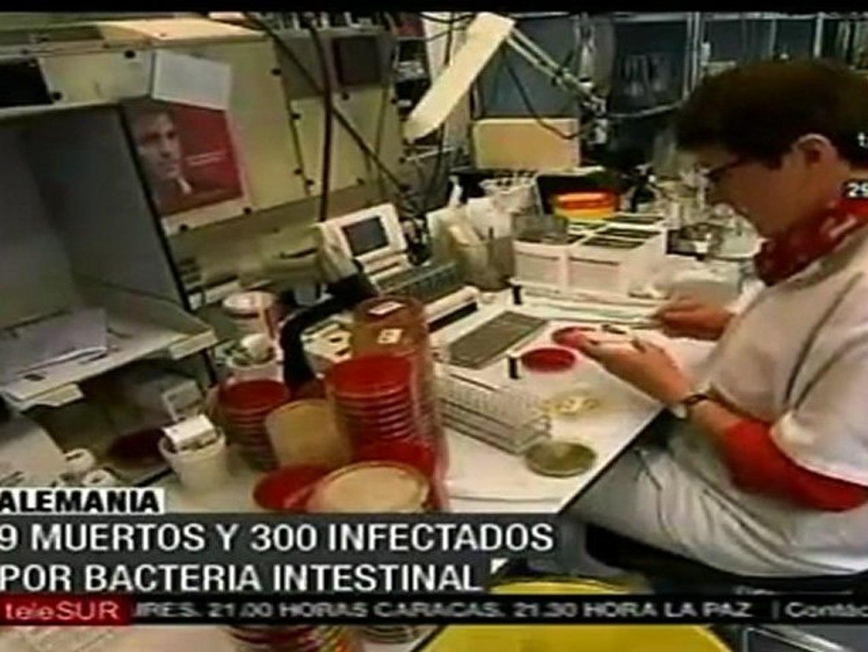 Al menos 9 muertos y 300 afectados por bacteria en Alemania