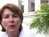 Gisèle Vergnon, maire de Sainte-Marie, garde la majoritée au sein du conseil municipal. Ses impressions au terme de ces élections complémentaires