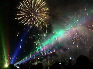 Haliç'teki Fetih Kutlamaları-Havai Fişek