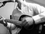 M Pokora - a nos actes manqués - guitare - Jean Jacques Goldman - cover paroles lyrics