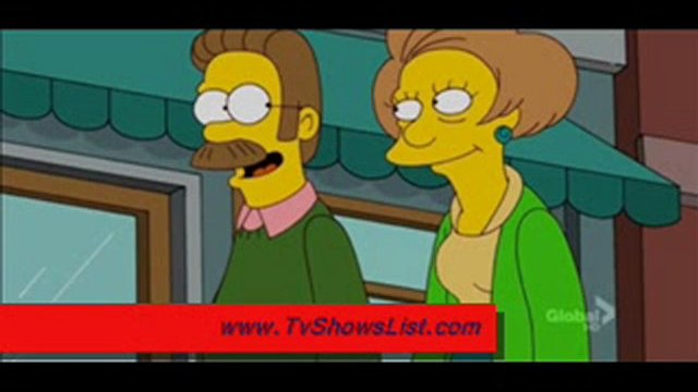 """The Simpsons Season 22 Episode 22 """"The Ned-Liest Catch"""""""