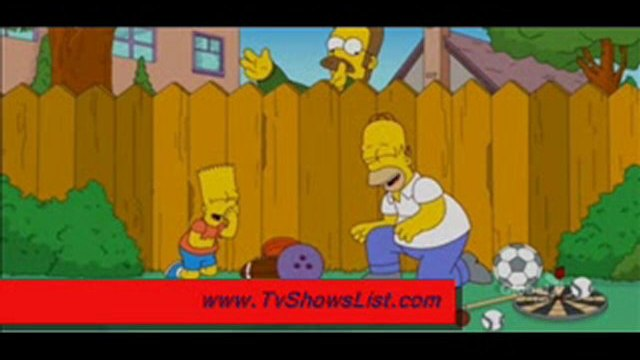 "The Simpsons Season 22 Episode 22 ""The Ned-Liest Catch"" 2011"