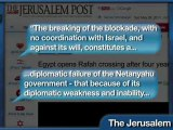 Eygpt Breaks Joint Blockade of Gaza, Without Israels Consent