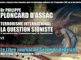 Philippe Ploncard d'Assac: Le Nationalisme Français 6 (1/2) - Radio Courtoisie
