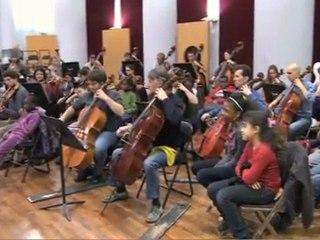 Programme avec l'Orchestre Colonne 2010-2011