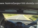 Team Rallye Sport 66 rallye du Printemps 2011 ES1