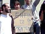 """""""Les indignés """" le 29 Mai Paris Bastille 14h34 (2011) : la  """"Prise de la Bastille"""" de Démocratie réelle maintenant !"""