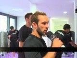 Séance de muscu avec le PAUC (Aix Handball)