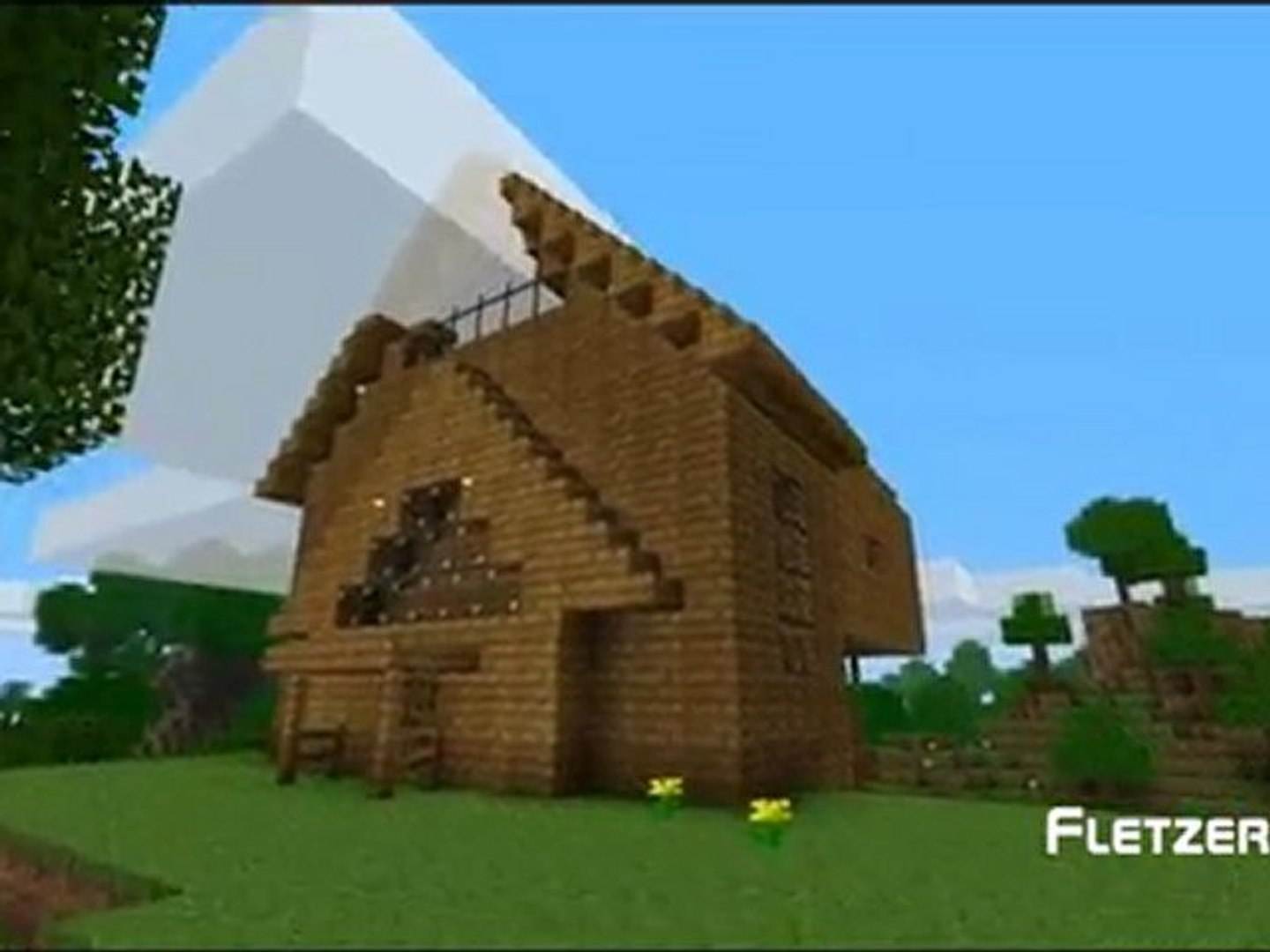 Top 5 Construction Minecraft Maison