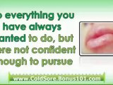how to stop a cold sore - treatment of cold sores - home remedies cold sores