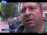 Les agents d'AB Habitat en grève (Argenteuil-Bezons)