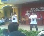 boy THCS Quang Trung Dance and poping