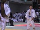 Dorian Lesaffre  minime -50kg aux inter régions judo  à Reims le 29 mai 2011