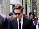 Robert Pattinson tourne « Cosmopolis »