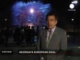 "Mikhail Saakashvili : ""la Géorgie aura une transition..."