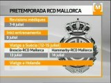 Calendari pretemporada RCD Mallorca 2011-2012