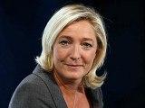 """► Marine Le Pen dénonce la loi de 1973 """" Pompidou Giscard Rothschild """" et souhaite en sortir"""