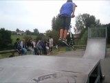 TROTINNETTE skate parck session