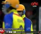 Chennai Rhinos vs. Telugu Warriors  Chennai Rhinos Innings Over04