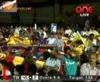 Chennai Rhinos vs. Telugu Warriors  Telugu Warriors Innings Over07