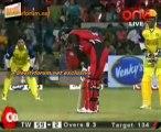 Chennai Rhinos vs. Telugu Warriors  Telugu Warriors Innings Over09