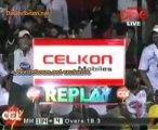 Mumbai Heroes vs. Karnatka Bulldozers - Mumbai Heroes Inning Ov19