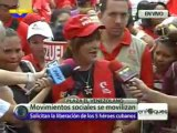 Caracas exige  extradición de  Posada Carriles y liberación de Los Cinco