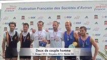 Championnat de France senior bateaux longs 2011 : Finales A FS2X et HS2X
