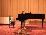 Violin O.Rieding concerto Momoha 7ans 桃羽バイオリン演奏(一年生) a SAPPORO
