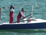 Première journée de régate au Championnat de France Intersérie des Croiseurs Légers, le 3 Juin au Lac d'Orient.