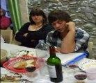 Duo de chanteurs du groupe ETHS Cantayres d'esparros