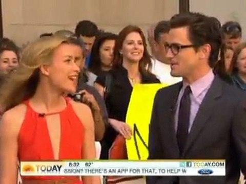 Matt Bomer & Piper Perabo appear on NBC's Today Show - Monday 06-06-11