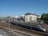 Nnates : départ train TGV gare SNCF
