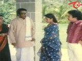 Brahmanandam & Srilakshmi Eating Together In Marriage - Comedy Scene