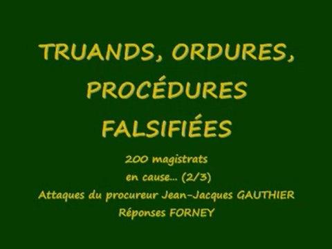 truands, ordures, procédures (partie2)