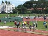 """Claire DUCOS - 400m haies - 66""""68 - Interclubs 2011 1er tour"""