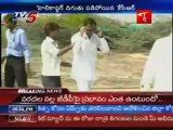 KCR slipped and fell down From  helicopter