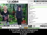 Alice Nine - Have to do some activities to air the BLUE FLAME PV on A9 Channel - Part 1/3 - English sub