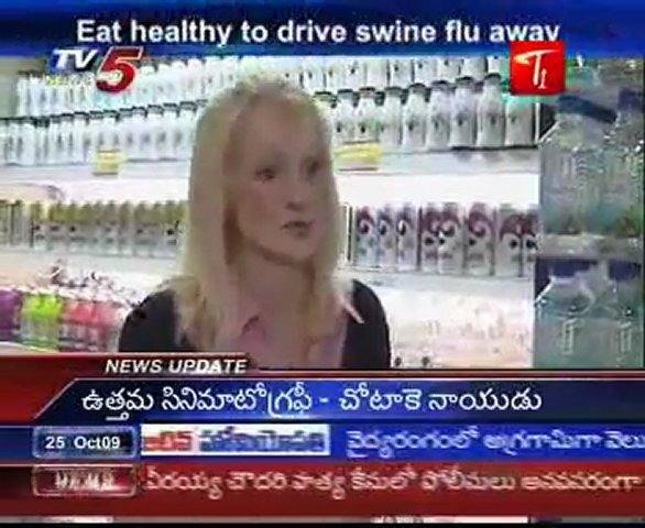 Eat healthy to drive swine flu away