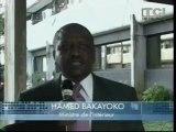 Lutte contre le Racket_ Hamed Bakayoko rencontre les généraux et officiers des FRCI